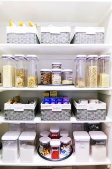Simple Minimalist Pantry Organization Ideas 45