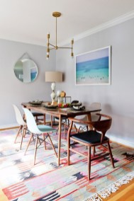 Awesome Bohemian Dining Room Design And Decor Ideas 35