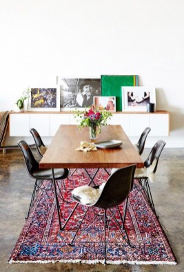 Awesome Bohemian Dining Room Design And Decor Ideas 36