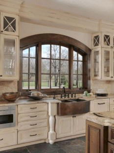 Awesome Farmhouse Kitchen Design Ideas 21