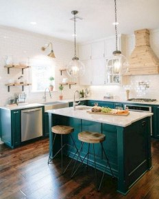 Awesome Farmhouse Kitchen Design Ideas 50