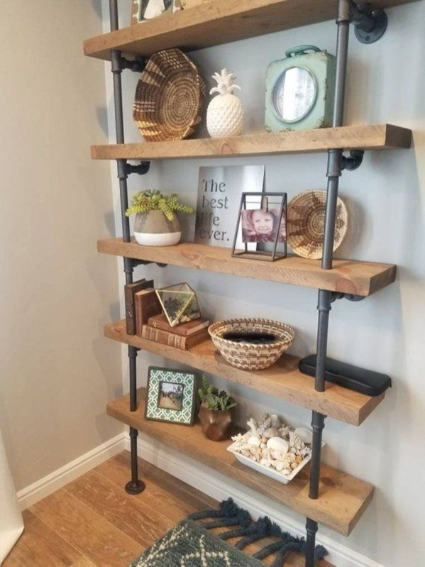 Inspiring Diy Wood Shelves Ideas On A Budget 17