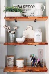 Inspiring Diy Wood Shelves Ideas On A Budget 21