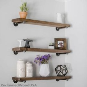 Inspiring Diy Wood Shelves Ideas On A Budget 44