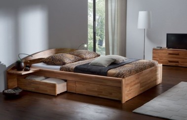 Lovely Diy Wooden Platform Bed Design Ideas 19
