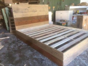 Lovely Diy Wooden Platform Bed Design Ideas 31