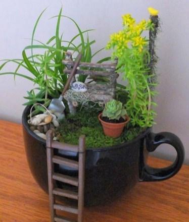 Magnificient Diy Fairy Garden Ideas With Plants 07