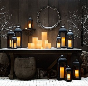 Outstanding Diy Outdoor Lanterns Ideas For Winter 02