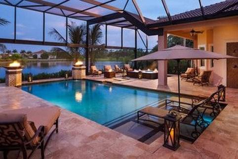 Perfect Mediteranean Swimming Pool Design Ideas 04