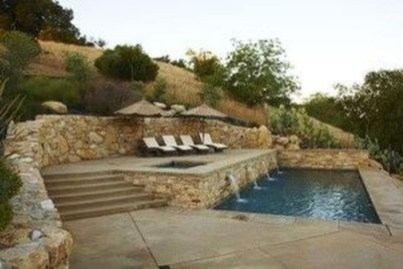 Perfect Mediteranean Swimming Pool Design Ideas 18