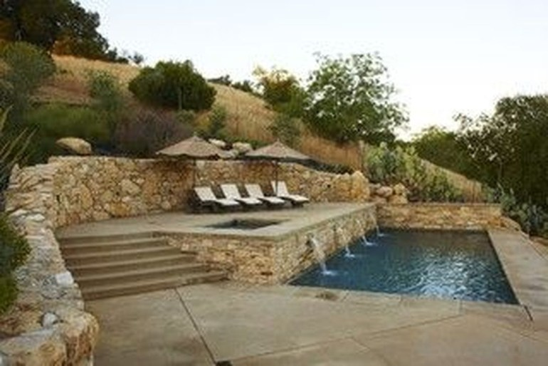 Perfect Mediteranean Swimming Pool Design Ideas 46