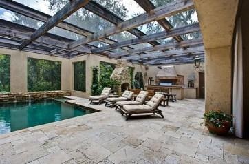 Perfect Mediteranean Swimming Pool Design Ideas 47