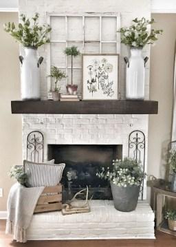 Popular Farmhouse Mantel Decorating Ideas 28