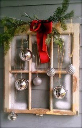 Romantic Rustic Christmas Decoration Ideas 47