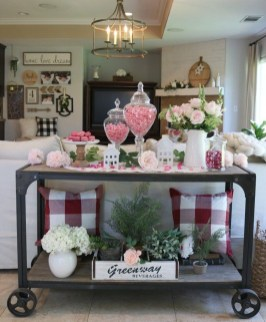 Stunning Red Home Decor Ideas For Valentines Day 08
