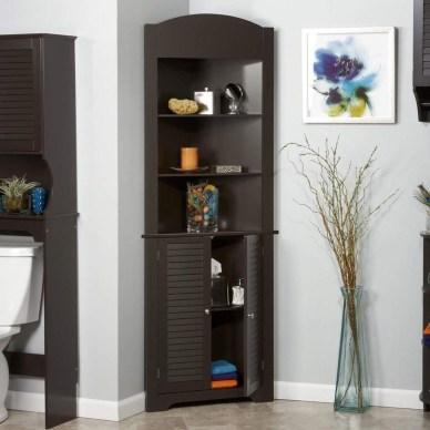 Amazing Corner Shelves Design Ideas 45