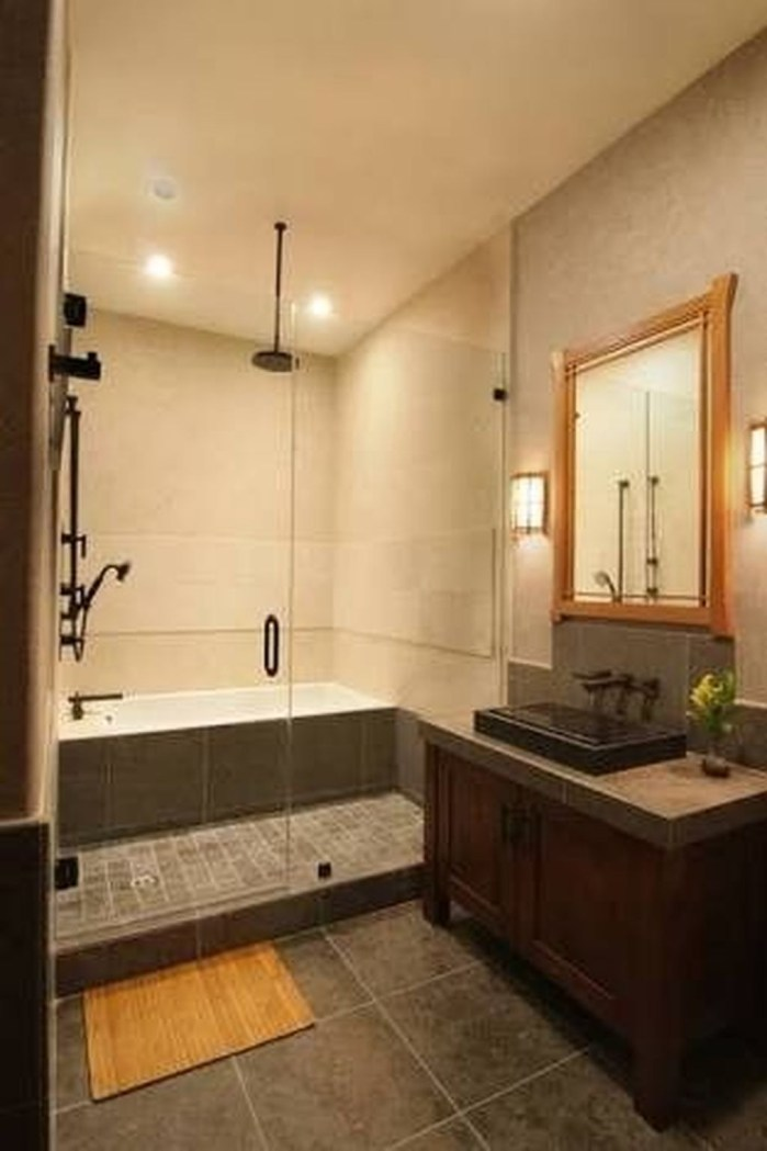 Comfy Traditional Bathroom Design Ideas With Japanese Style 30