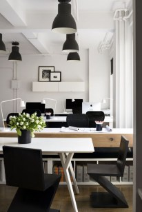 Gorgeous Industrial Table Design Ideas For Home Office 08