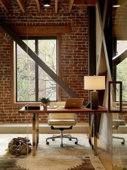 Gorgeous Industrial Table Design Ideas For Home Office 27