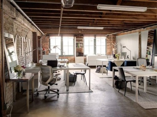 Gorgeous Industrial Table Design Ideas For Home Office 40