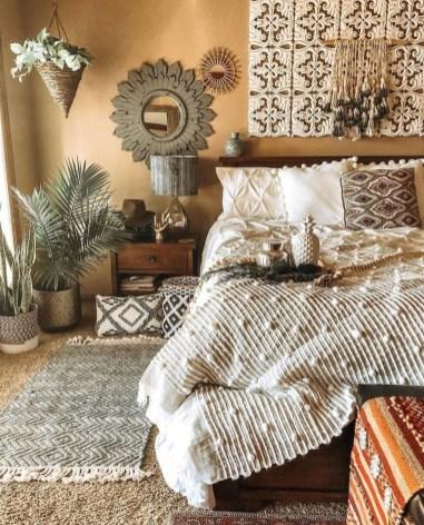 Lovely Boho Bedroom Decor Ideas 29