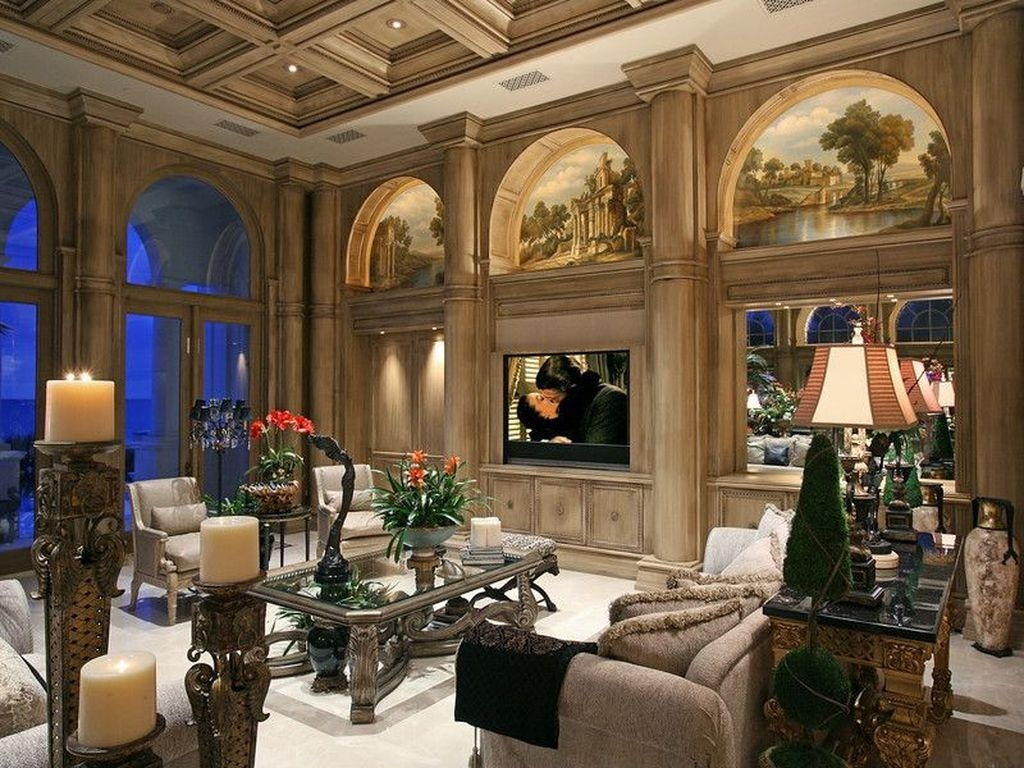 30 Luxury European Living Room Decor Ideas With Tuscan Style Trendecors