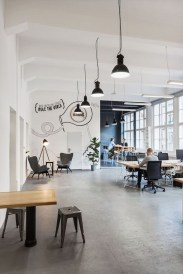 Magnificient Industrial Office Design Ideas 02