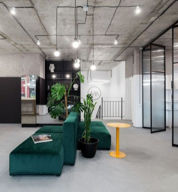 Magnificient Industrial Office Design Ideas 36