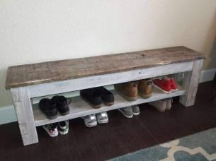 Minimalist Tiny Apartment Shoe Storage Design Ideas 11