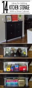Minimalist Tiny Apartment Shoe Storage Design Ideas 34
