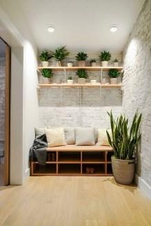 Minimalist Tiny Apartment Shoe Storage Design Ideas 39