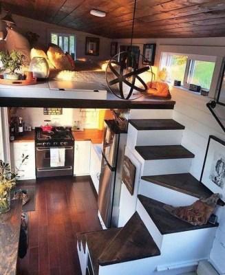 Relaxing Small Loft Bedroom Designs 21