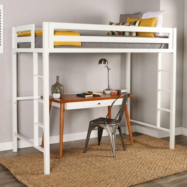 Relaxing Small Loft Bedroom Designs 27
