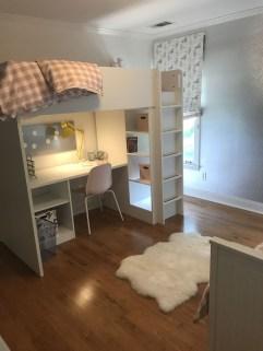 Relaxing Small Loft Bedroom Designs 38