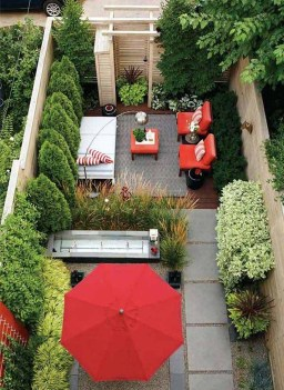 Stunning Small Patio Garden Decorating Ideas 39