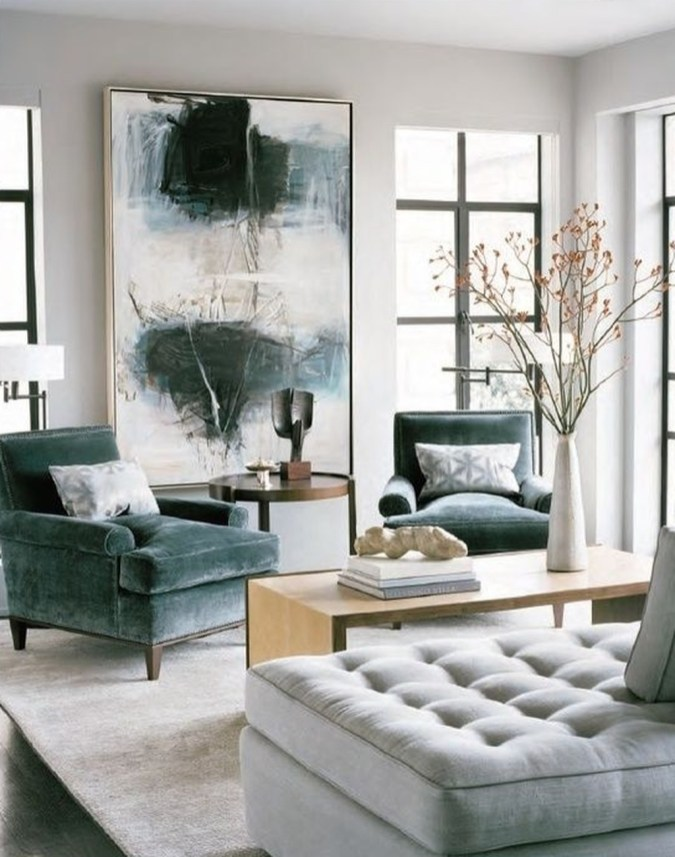 Unique Mid Century Living Room Ideas With Furniture 45