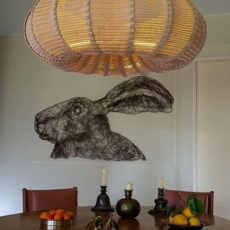 Adorable Hanging Lamp Designs Ideas From Rattan 28
