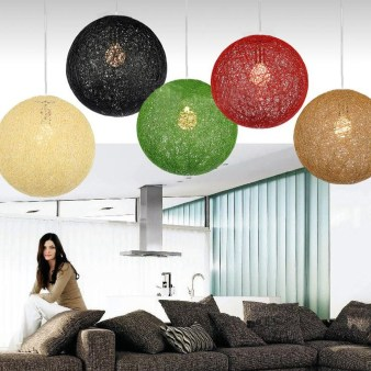 Adorable Hanging Lamp Designs Ideas From Rattan 35