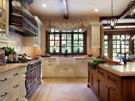 Awesome French Country Design Ideas For Kitchen 28