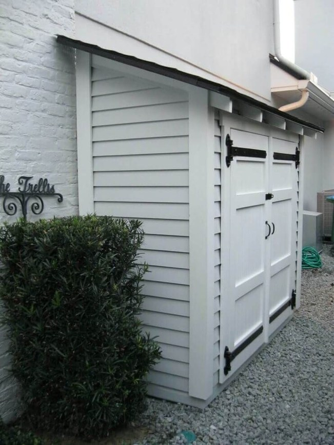 Cool Small Storage Shed Ideas For Garden 30