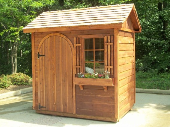 Cool Small Storage Shed Ideas For Garden 34