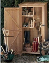 Cool Small Storage Shed Ideas For Garden 43