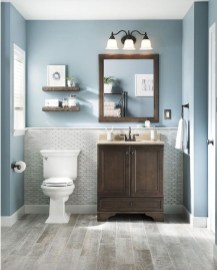 Elegant Bathroom Makeovers Ideas For Small Space 30