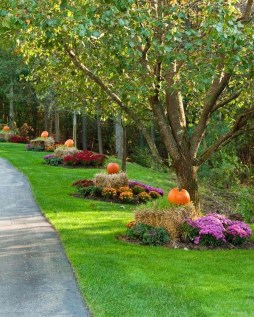 Incredible Autumn Decorating Ideas For Backyard 20