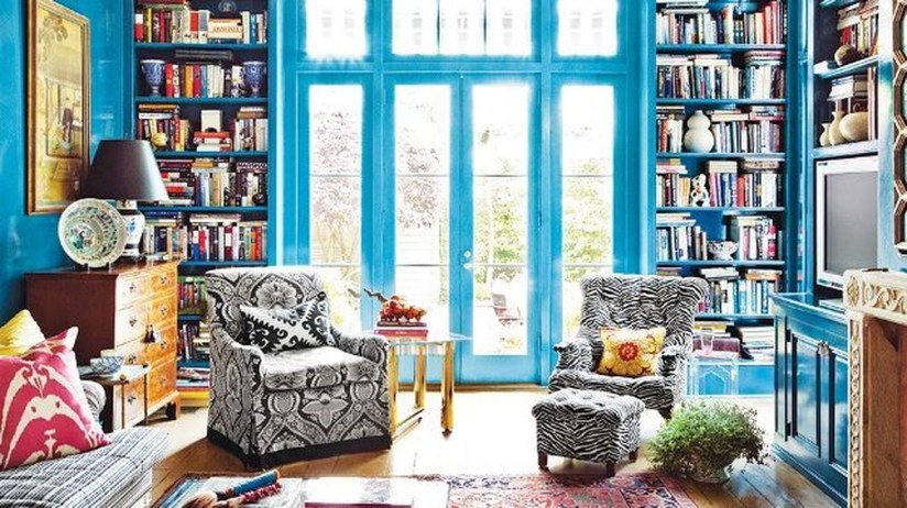 Modern Vibrant Rooms Reading Ideas 13