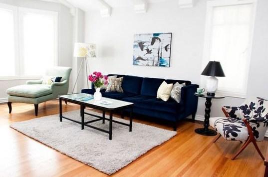 Popular Velvet Sofa Designs Ideas For Living Room 22