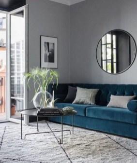 Popular Velvet Sofa Designs Ideas For Living Room 30