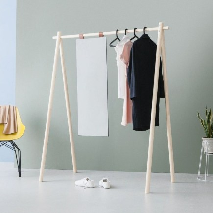 Stunning Clothes Rail Designs Ideas 10