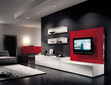 Catchy Living Room Designs Ideas With Bold Black Furniture 39