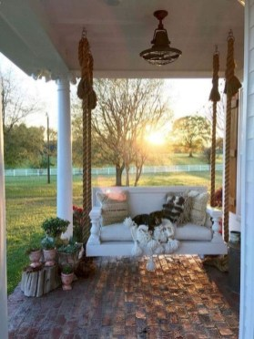 Comfy Porch Design Ideas For Backyard 32